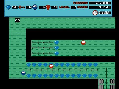 Amiga Game: Blobz (56 levels of 60/bugged game)