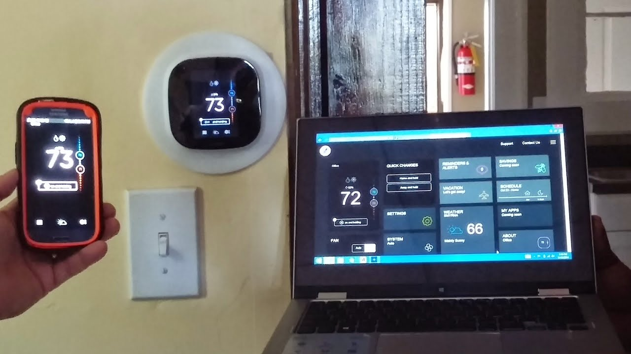 maxresdefault ecobee3 thermostat review & install youtube Ecobee3 Wiring-Diagram RC RH at gsmx.co