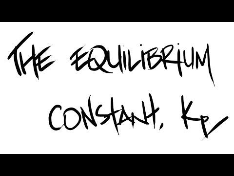 AQA A-Level Chemistry - Equilibrium Constant, Kp