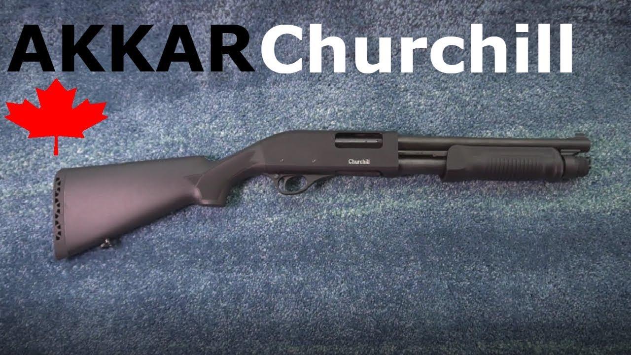 AKKAR Churchill Short Barrel Shotgun - Review + Shooting (Canada)