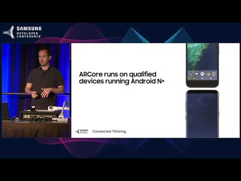 SDC 2017 Session: ARCore: Augmented Reality at Android Scale