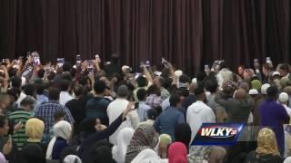 Muhammad Ali Jenazah prayer service