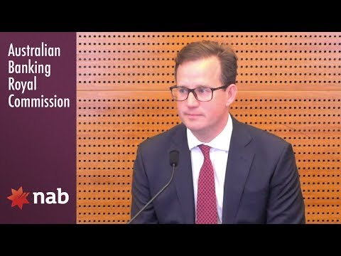 NAB's Head of Consumer Lending testifies at the Banking Royal Commission