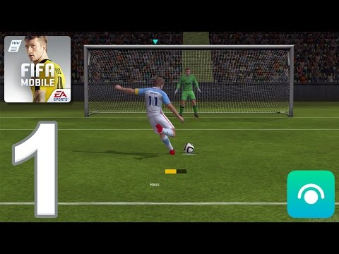 FIFA Mobile Soccer - Gameplay Walkthrough Part 1 - Tutorial, Attack Mode (iOS, Android)