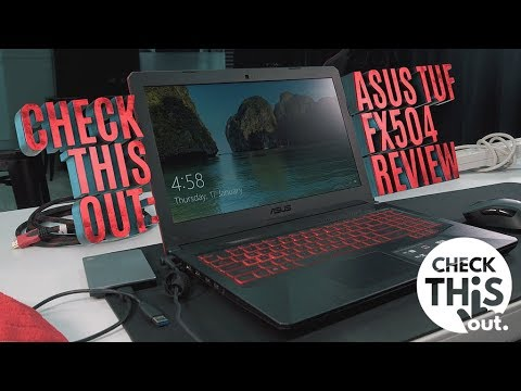 A laptop for both work and games? ASUS TUF FX504 Laptop Review