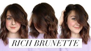 Rich Brunette || Hair Tutorial