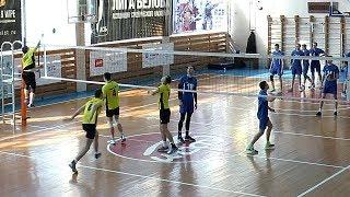 Студенческая волейбольная лига. Нападающий удар