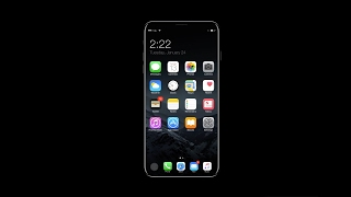 iPhone 8 Running iOS 11 ( 2017 Review Concept )