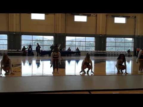 Hocking college cheerleading