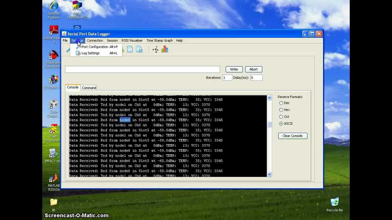 Serial Data Logger