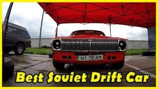 Gaz Volga 24 Best Soviet and Ukrainian Drift Cars Exploring 2018. Coolest Motor Show in Kiev