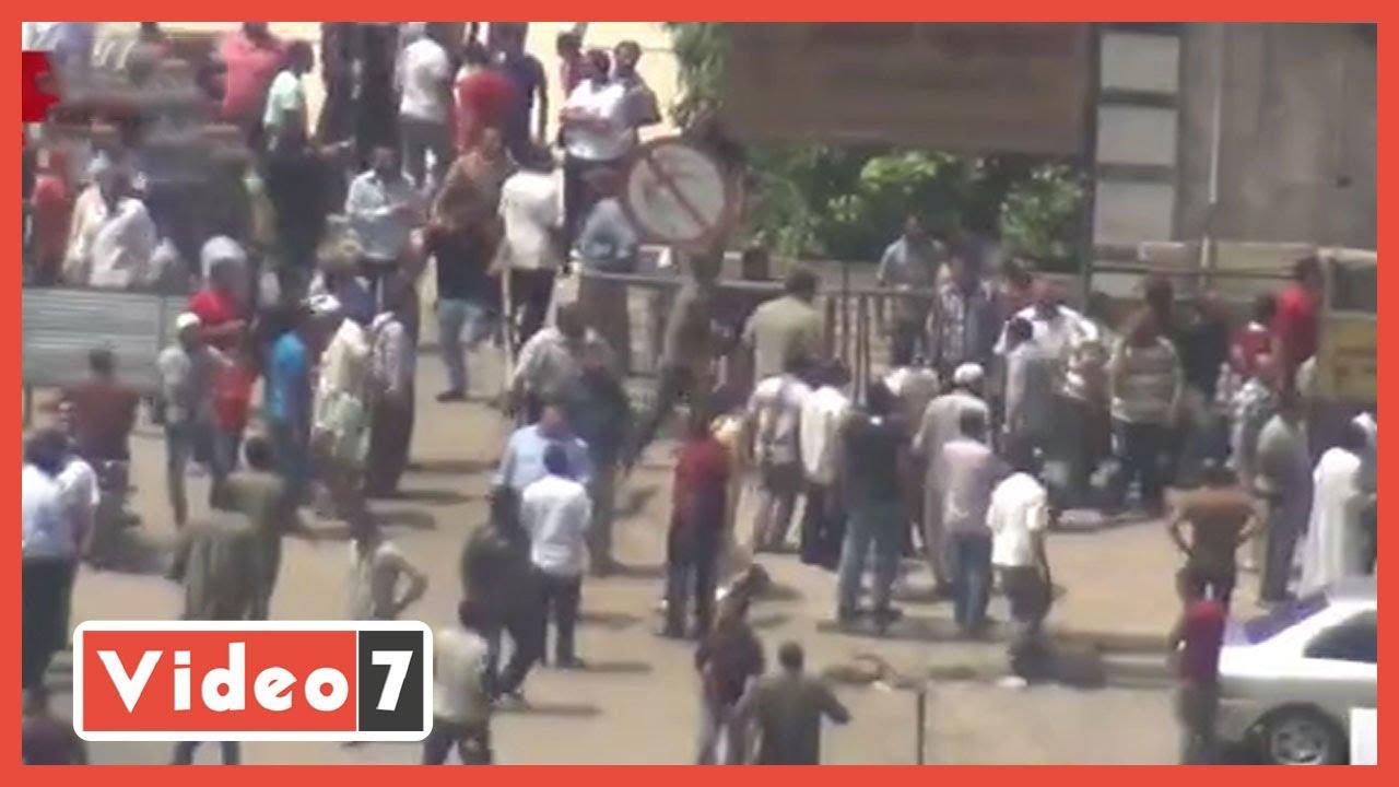 لقطات مرعبة.. الإخوان يطلقون الرصاص على الشرطة فى رابعة وجامعة الدول  - 06:58-2021 / 4 / 19