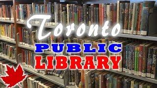 В библиотеку ТОРОНТО за книгами   Жизнь в Канаде by Étoile Tube CANADA