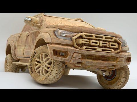 Wood Carving – FORD RANGER RAPTOR 2020 – Woodworking Art