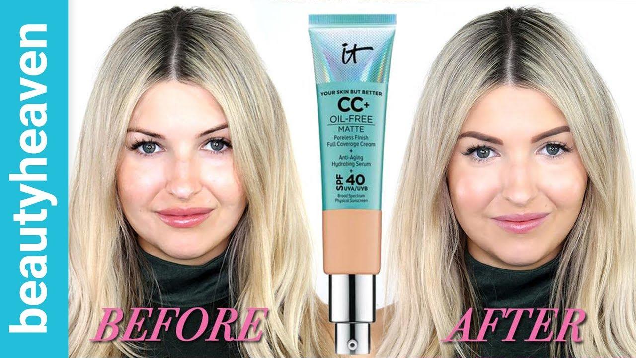 It Cosmetics CC Cream Oil-Free Matte review
