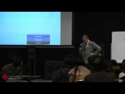 Intellectual Property Rights. A talk by Ronald Yu.