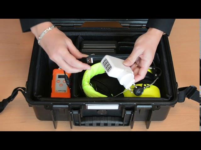 VIDEO TUTORIEL 01 - Contenu d'une valise APPI-Com