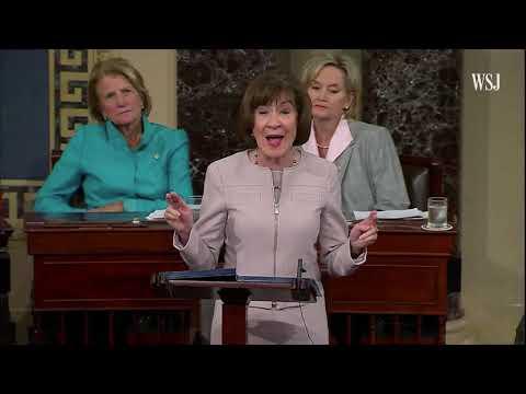 Sen. Susan Collins Will Vote to Confirm Judge Kavanaugh