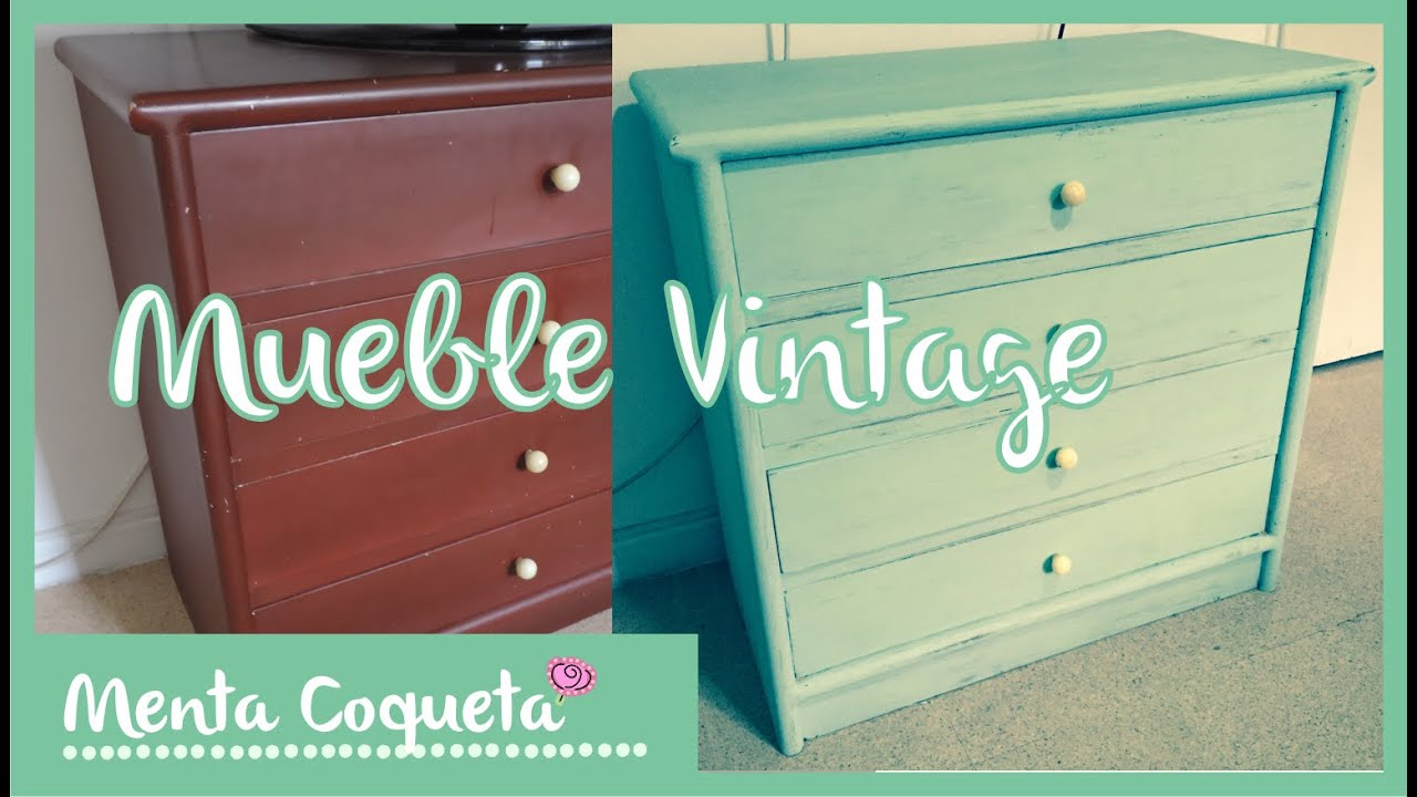 DIY Muebles Vintage )  YouTube