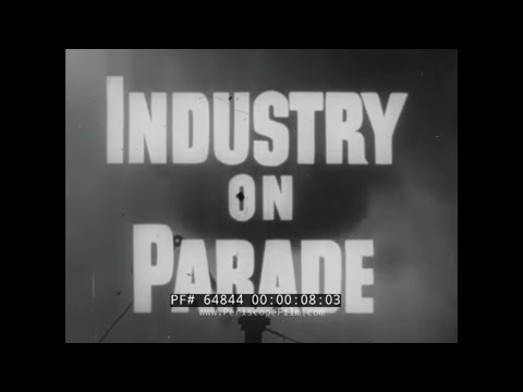 INDUSTRY ON PARADE   PACKAGING OF PRODUCTS   COAL MINING  TRANSISTORS  MAINE FISHING FLEET 64844