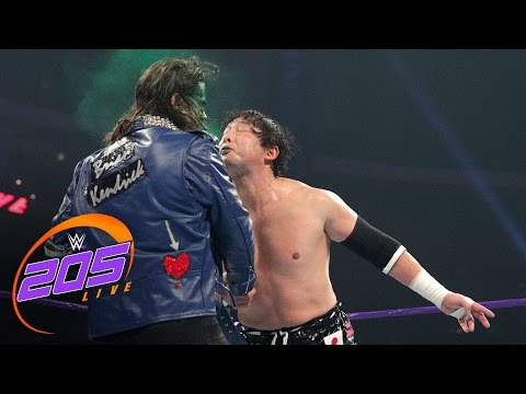 Tajiri vs. Sean Maluta: WWE 205 Live, Jan. 3, 2017