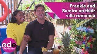 Love Island's Frankie and Samira on their villa romance