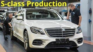2018 Mercedes S-class Production