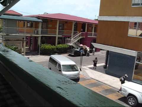 Street views, St. Johns, Antigua.