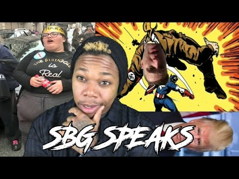 SBG SPEAKS: Trump, Woman's March and Richard Spencer