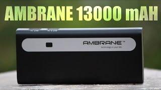 Ambrane P-1310 | 13000 mAH Powerbank - Best under Rs. 1000