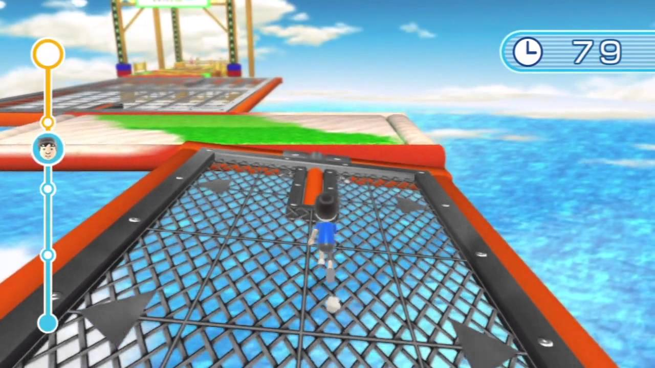 Wii Fit U Ultimate Obstacle Course Gameplay Youtube