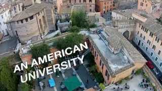 An American University in the Heart of Rome - John Cabot