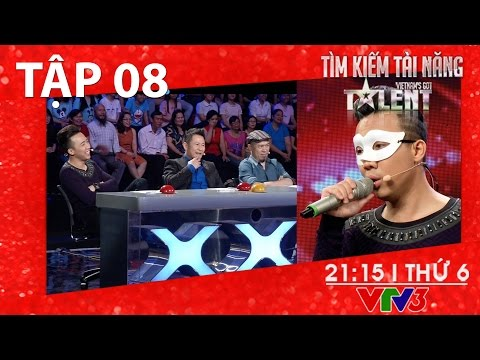 [FULL HD] Vietnam's Got Talent 2016 – TẬP 8 (04/03/2016)