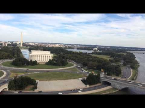 Helicopter River Route Through Washington DC