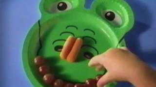 Hefty New Zoo Pals Plates Commercial 2004