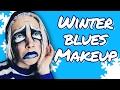 Winter Blues Makeup Tutorial GRWM Makeup Your Mood HISSYFIT mp3