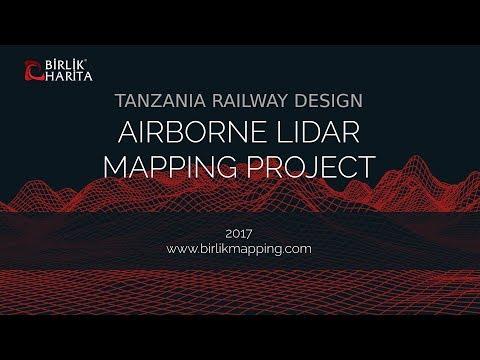 Tanzania Railway Design Airborne Lidar Mapping Project