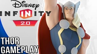 Disney Infinity 2.0 Marvel Super Heroes - Thor Gameplay