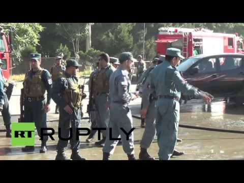 Afghanistan: 14 security contractors killed, 8 wounded in Kabul bomb attack