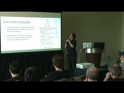 Ruby Tahboub, Purdue University, How to Architect a Query Compiler