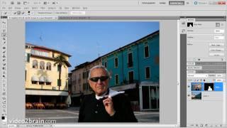 إضافة خلفية جديدة إلى صورة في فوتوشوب CS5