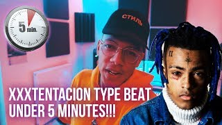 MAKING AN XXXTENTACION TYPE BEAT FROM SCRATCH IN 5 MINUTES!!! (Chuki Beats Making A Beat)
