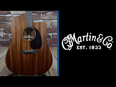 Martin DC-15ME Mahogany Dreadnought Acoustic Electric Guitar - Manchester Music Mill