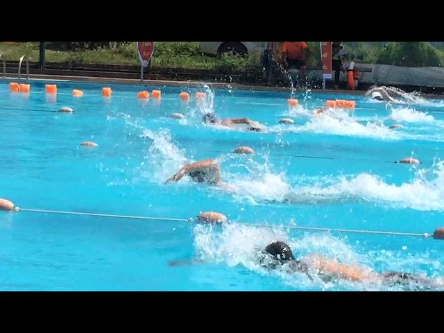 Thi b?i chung k?t t? do nam 50m c?p t?nh. (50m Swimming contest)