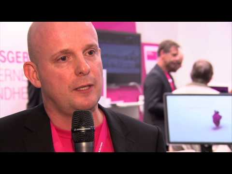 conhIT 2014: Interview mit Arndt Lorenz, Telekom Healthcare and Security Solutions GmbH