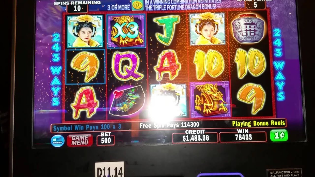 Triple dragon fortune slots universal agp slot