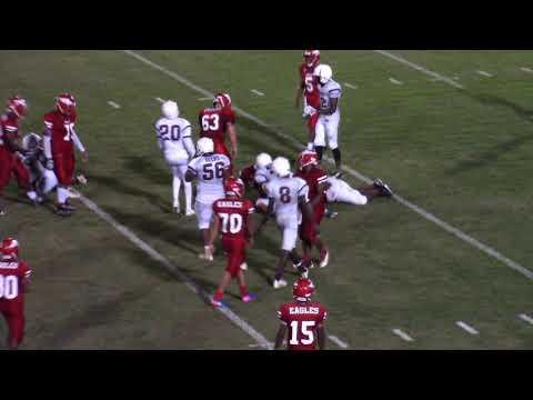 8-18-17 Bowman Football vs Military Magnet Academy