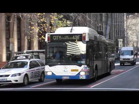 Sydney Buses Martin Place July 2016