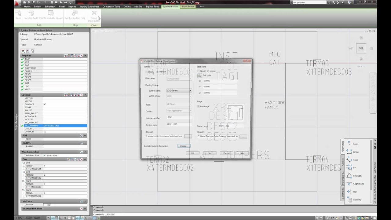 96 Electrical Jumper Symbol Schematic Autocad 2012 Create Internal Jumpers Within Components