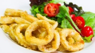 Salt And Pepper Squid / Calamari - Video Recipe